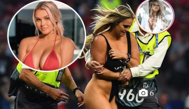 Champions League pitch invader jailed in Brazil after ...